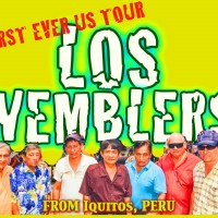 Live Cumbia Amazonica with Los Wemblers