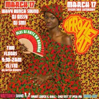 Afroheat at Spirit W/Special Guests Wavy Bunch Sound & DJ GISSY & DJ Nate Da Barber