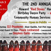 2nd Annual - Howard Red Shoes Bday Dance Party & CHS benefit