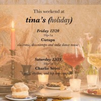 Cutups at Tina's Holiday Pop-up