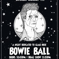 The 5th Annual BOWIE BALL: A Party Dedicated to the Starman